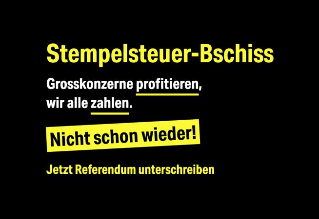 Referendum Stempelsteuer